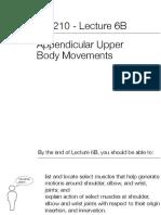BIO210 6B Appendicular Upper Body Movement Slides V2016