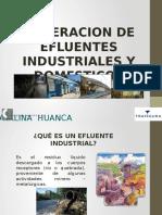 Generación de Efluentes Industriales - Domésticos