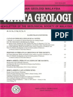 Warta Geologi 1987