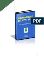 Bikin Website Secepat Kilat 2