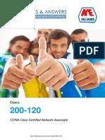 Pass4sure 200-120 - CCNA Cisco Certified Network Associate,  100% Money back Guarantee