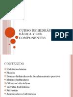 Curso de Hidráulica y Sus Componentes