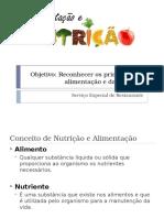 Nutrição e Alimentação