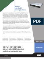 switch 48-port Linksys-SRW2048 datasheet