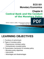 ECO551 C6 Central Bank and the Conduct of the Monetary Policy Edit 2