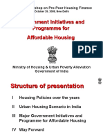 1.Government Initiative and Programme for Affordable Housing--Pankaj Joshi, Dir(H), MHUPA
