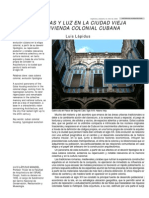 Vivienda Colonial Cubana - Luis Lapidus