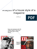 Analysis of a House Style of a Magazine
