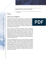 AST-0112091 IDC Selecting the Optimal Path to Private Cloud