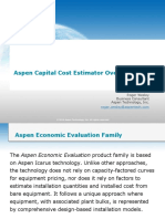 Aspen Capital Cost Estimator Overview - AACE 25 Feb 2014