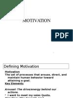 Motivation - Unit 2