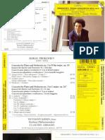 Booklet Prokofiev - Piano Concertos 1 & 3 - Kissin - Abbado - BPO