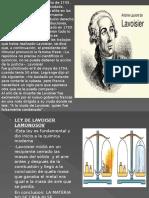 Tarea Lavoisier