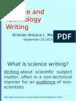 Science Sept 25
