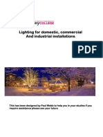 Lighting for Domestic, Industrial & Commercial-1