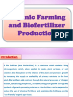 Organic Farming and Biofertilizer Production