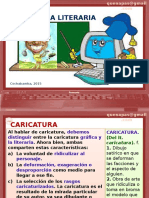 CARICATURA LITERARIA