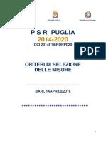 Allegato A_Criteri Di Selezione PSR 2014-2020