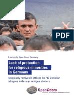 Rapport Refugies 2016