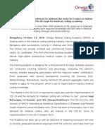 OMCA -Press Release -October16