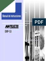 Manual Cañón EPSON EMP-S3