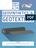 Distributors Manual on Geosynthetics and Geotextiles
