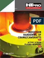 Induction hardening of crank/camshafts HTPro September 2013