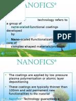 Nanofics Presentation