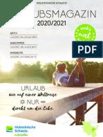 Urlaubsmagazin 2020/2021