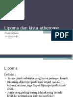 Lipoma dan kista atherome.pptx