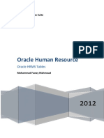 Oracle Hrms Table Name