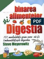Steve Meyerowitz - Combinarea Alimentelor Si Digestia