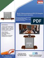 Rack Videoconferencia RVC55 Simples