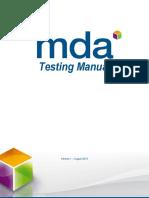 Mda Test Manual 2013