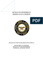 Human Engineering Design Data Digest
