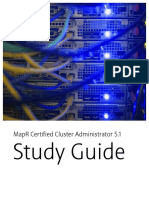 MapR Certified Cluster Administrator Study Guide v.5.1