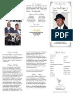 Larry Darnell Godfrey lFuneral Program