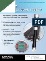 Portable Coal Analyzer (FC-KH)