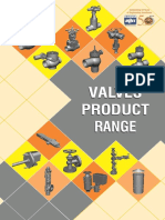 Valves Product Range Pamplet
