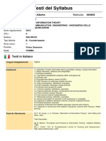 Information Theory_Syllabus