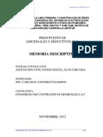 Informe Sustentatorio Adicional 01_Sarin Noreste