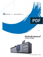 Bizhub Press C1070 C1060 Catalog e