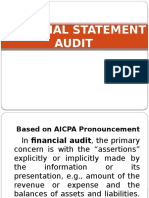 Financial Statement Audit Rica