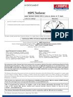 HDFC TaxSaver