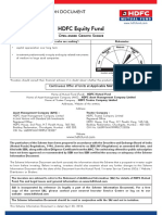 HDFC Equity Fund SID April 2016 100516