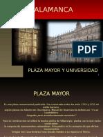 Salamanca. Plaza Mayor y Universidadpb