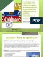 Material Ley Orgánica de Solidaridad y Corresponsabilidad Ciudadana