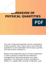 DIMENSION OF PHYSICAL QUANTITIES.pptx