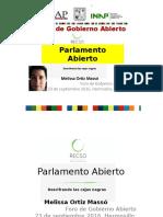 Ortiz Massó Melissa_Parlamento Abierto