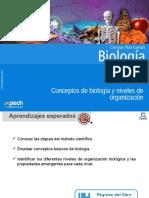 Clase 1 Conceptos de Biología y Niveles de Organización 2016
